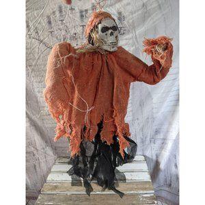 Mini grim reaper skeleton Halloween hanging prop t